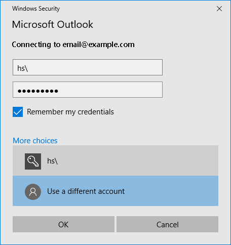 Knowledge Base - Exchange setup on Outlook 2016 / Office 365